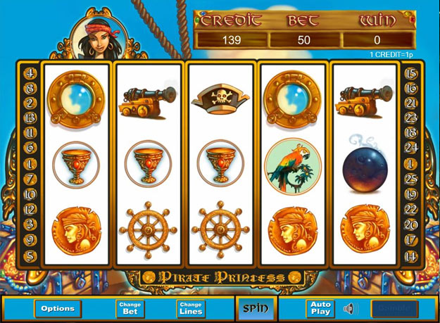 Pirate Princess Slots