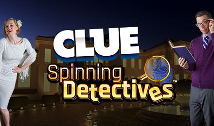 CLUE Spinning Detectives Slots