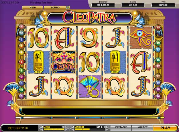 Cleopatra's Tomb Slot Machine - Review and Free Online Game