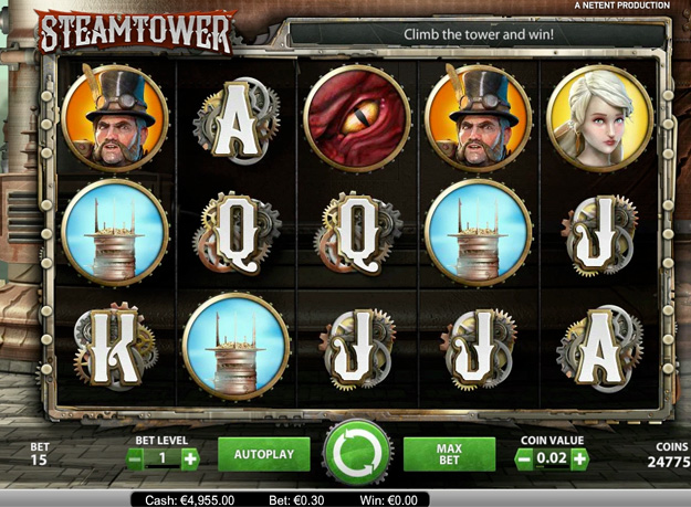 Steampunk Big City Slots - Play the Online Slot for Free