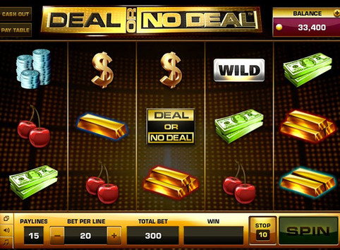 Deal or no deal Video Poker