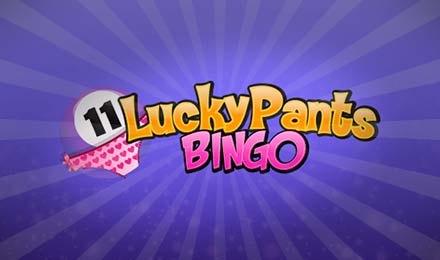 Lucky Pants Bingo Banner